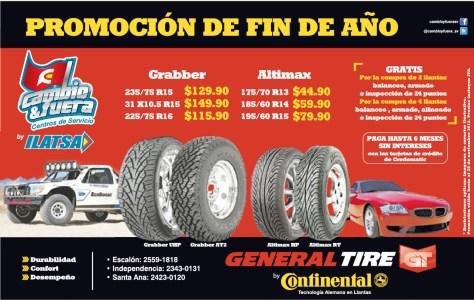 General Tire by continental promocion de fin de año - 04nov13