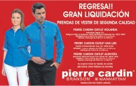 Gran Liquidacion de prendas de vestin PIERRE CARDIN - 14nov13