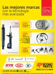 Hasta 50 OFF en repuestos ECONO PARTS - 22nov13