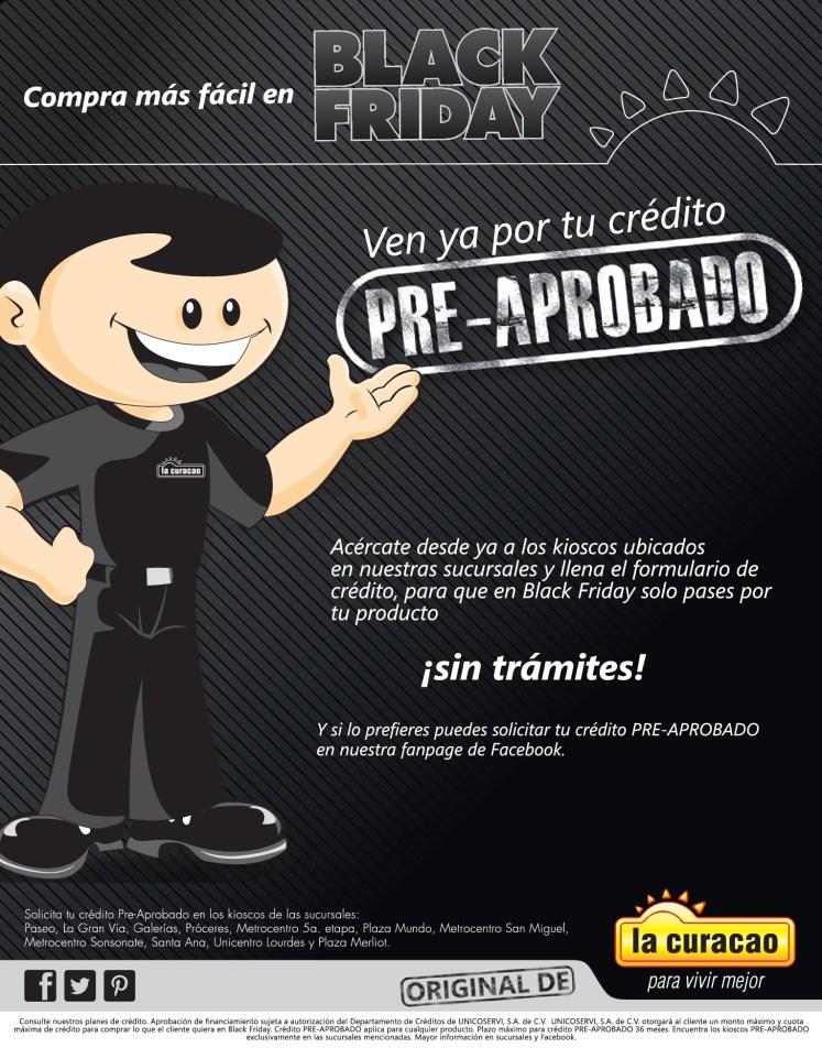 La Curacao compra mas facil en BLACK FRIDAY 2013