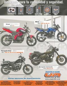 Motocicletas UM comodidad y seguridad - 04nov13