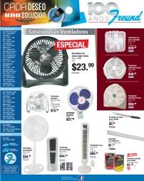 Ofertas FREUND el salvador ventiladores - 08nov13