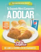 POLLO CAMPESTRES tu segundo menu a dolar - 04nov13