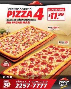 Pizza Hut a domicilio promocion pizza 4