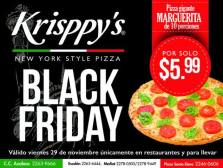 Pizza Krisspy pizza promotion BlackFriday - 29nov13