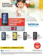 Pospago CLARO smartphones para todos en navidad - 13nov13