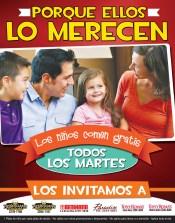 Promocion Los Niños comen GRATIS - 12nov13