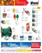 Promociones Ferreteria VIDRI soluciones electricas y luces - 25nov13