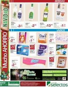 Promociones Super Selectos el salvador hoy bebidas - 08nov13