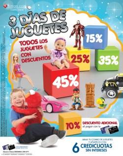 Quedan 3 dias TODOS los juguetes con descuento SIMAN el salvador - 15nov13