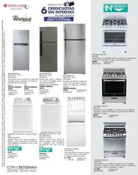 SIMAN.com compra online ofertas en cocinas y refrigeradoras - 15nov13