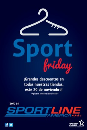 Sport Line america friday promotions - 29nov13