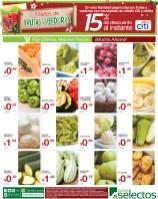 Super Selectos martes de frutas y verduras - 19nov13