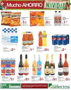 Super Selectos mucho ahorro bebidas - 23nov13
