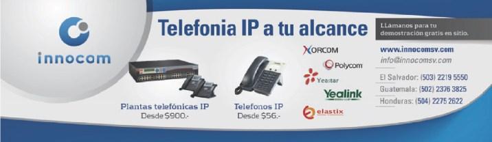 Telefonia IP con INNOCOM el salvador - 26nov13