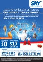 Television por cable SKY el salvador - 14nov13