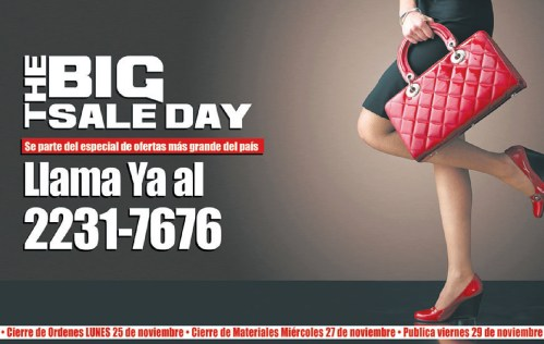 The BIG SALE DAY