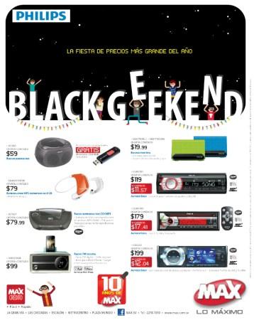 Tiendas MAX promociones BLACK Weekend philips 2013