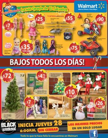 black weekend Walmart descuentos - 22nov13