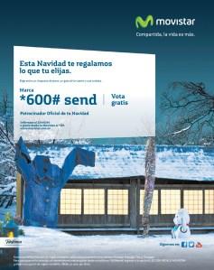 promociones Movistar esta navidad te regalamos lo que elijas