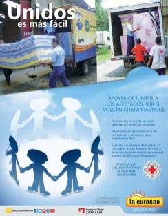 Apoyemos juntos a los afectados VOLCAN Chaparrastique