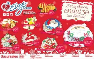 Cakes de navidad ELSYS CAKE promociones - 16dic13