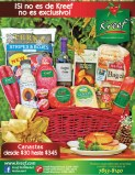 Canasta navideñas gourmet KREEF - 09dic13