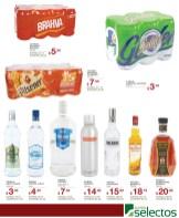 Cervezas Vodkas Ron Whisky SUPER SELECTOS promociones - 31dic13