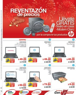 Computadoras portatiles COMPAQ HP prado promociones - 31dic13