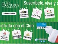 Descuentos y beneficios CLUB DE LECTORES - 28dic13