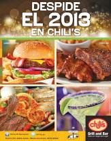 Despide el 2013 en restaurantes CHILIS - 27dic13