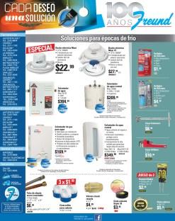 Duchas electricas soluciones ferreteria FREUND ofertas - 06dic13