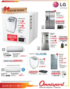 Electrodomesticos ofertas y promociones OMNISPORT - 12dic13