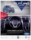 Ford Explorer 4x4 2014 promotion GRUPO Q - 11dic13