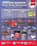 HOY viernes gran venta nocturna OFFICE DEPOT - 13dic13