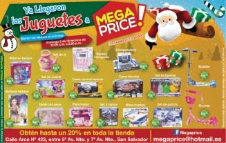 Juguetes novedoso en MEGA PRICE el salvador - 06dic13