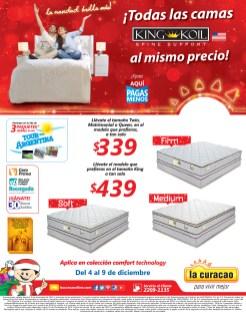 KING KOIL spine support BED buen precio La Curacao - 04dic13