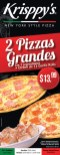 Krisppys new yor style pizza promociones - 18dic13