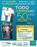 LAIN bakar de peso en diciembre - 09dic13