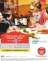 LAPTOP Intel look inside Promociones casa CLARO - 23dic13