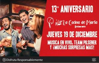 La cocina de marta celebra aniversario - 19dic13