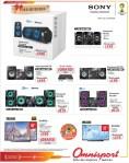 Las mejores marcas audio video OMNISPORT ofertas - 30dic13