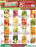 Martes de Frutas y Verduras SUPER SELECTOS descuentos - 17dic13