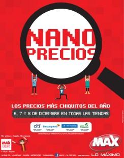 NANO PRECIOS Los mas bajos del año MAX el salvador - 06dic13
