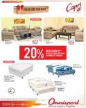 Omnisport.com descuentos en camas y muebles de sala - 12dic13