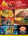 Promocion 4x20 de restaurante CHILIS - 13dic13