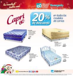 Promociones Navideñas 2013 La Curacao el salvador Camas CAPRI - page 10