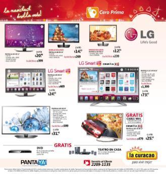Promociones Navideñas 2013 La Curacao el salvador Smart TV - page 23
