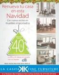 Renueva tu casa en NAVIDAD La CAsita fine furniture discounts - 17dic13