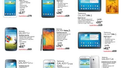 Samsung Moviles y Tablet ofertas en La Curacao - 05dic13